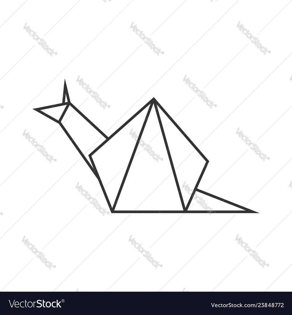 Easy Origami Snail Tutorial - YouTube | 1080x1000