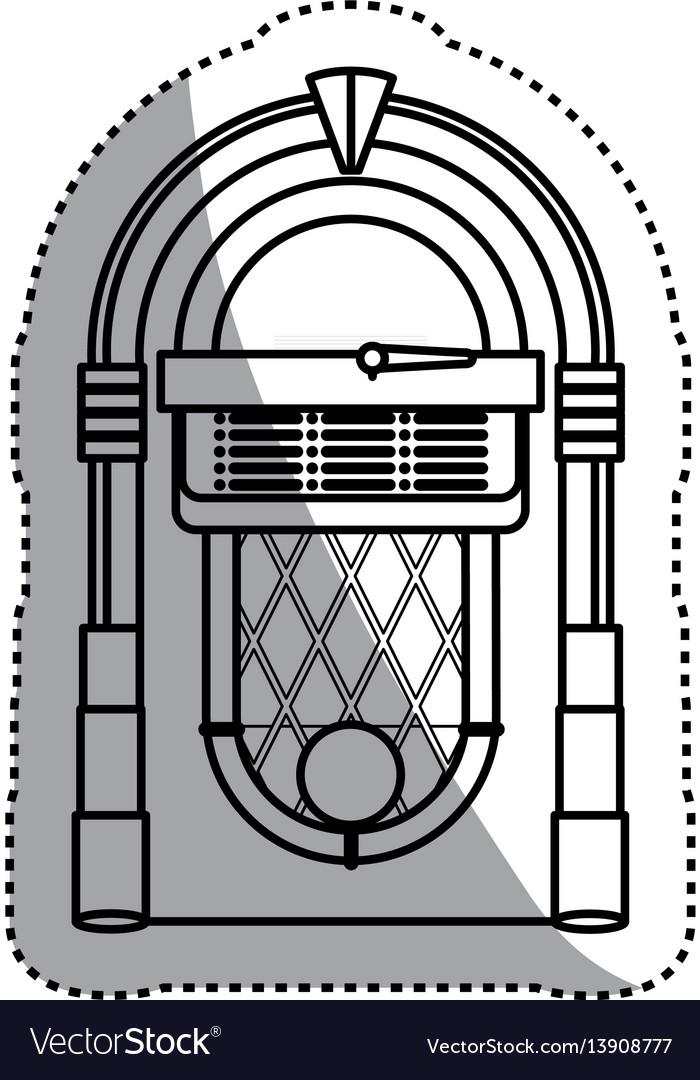 Jukebox vintage rockola