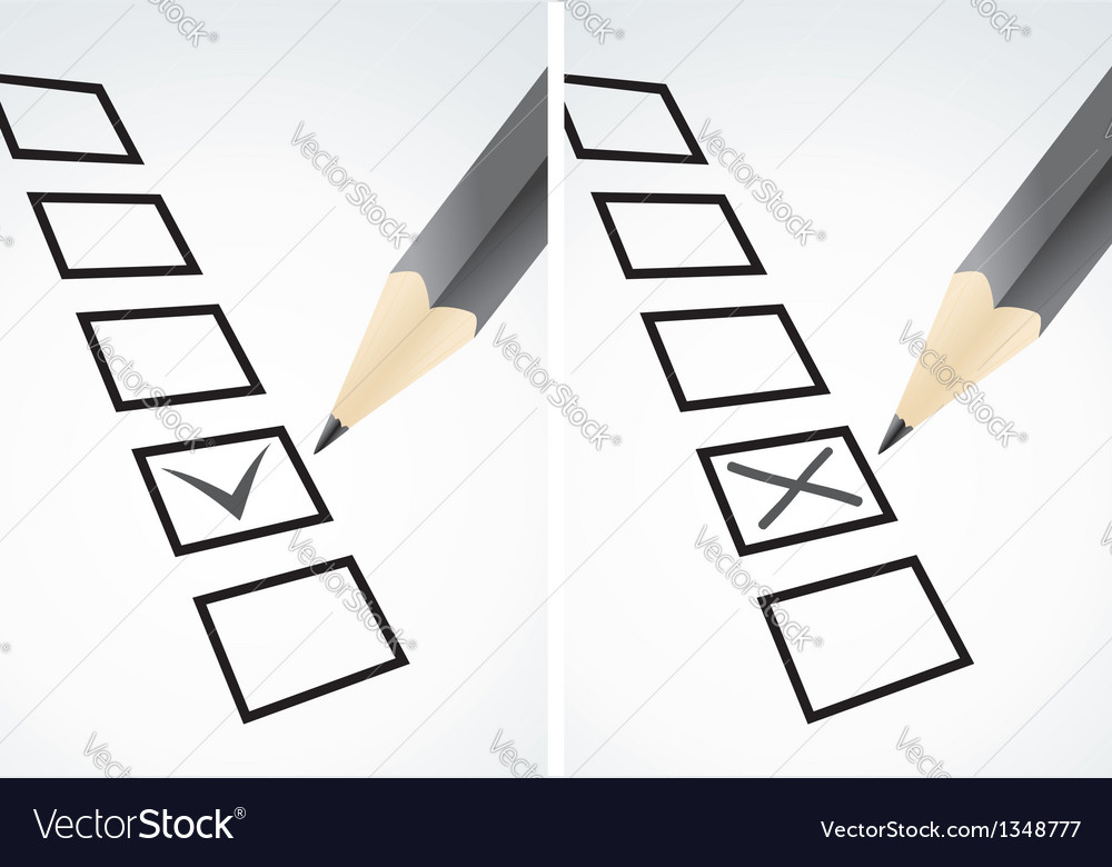 Markings in pencil vector image