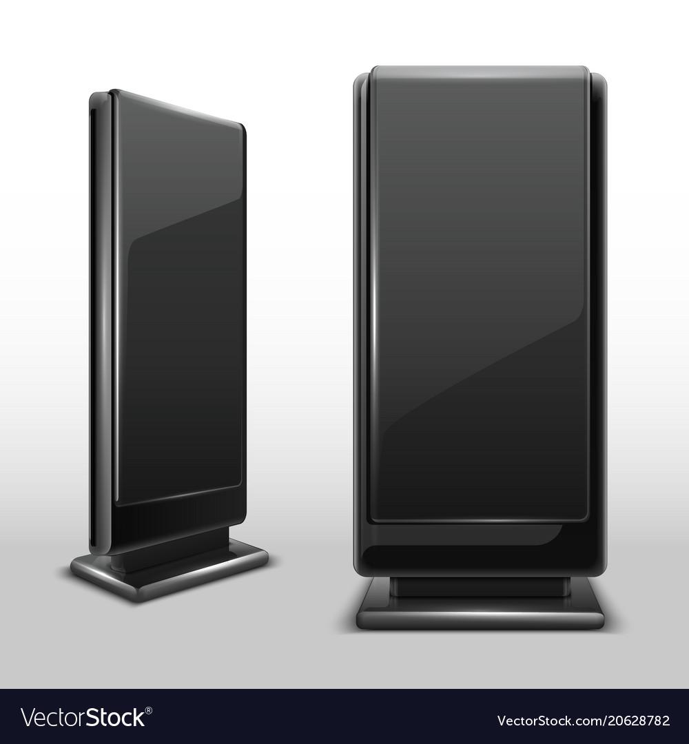 Outdoor lcd digital display standing screen