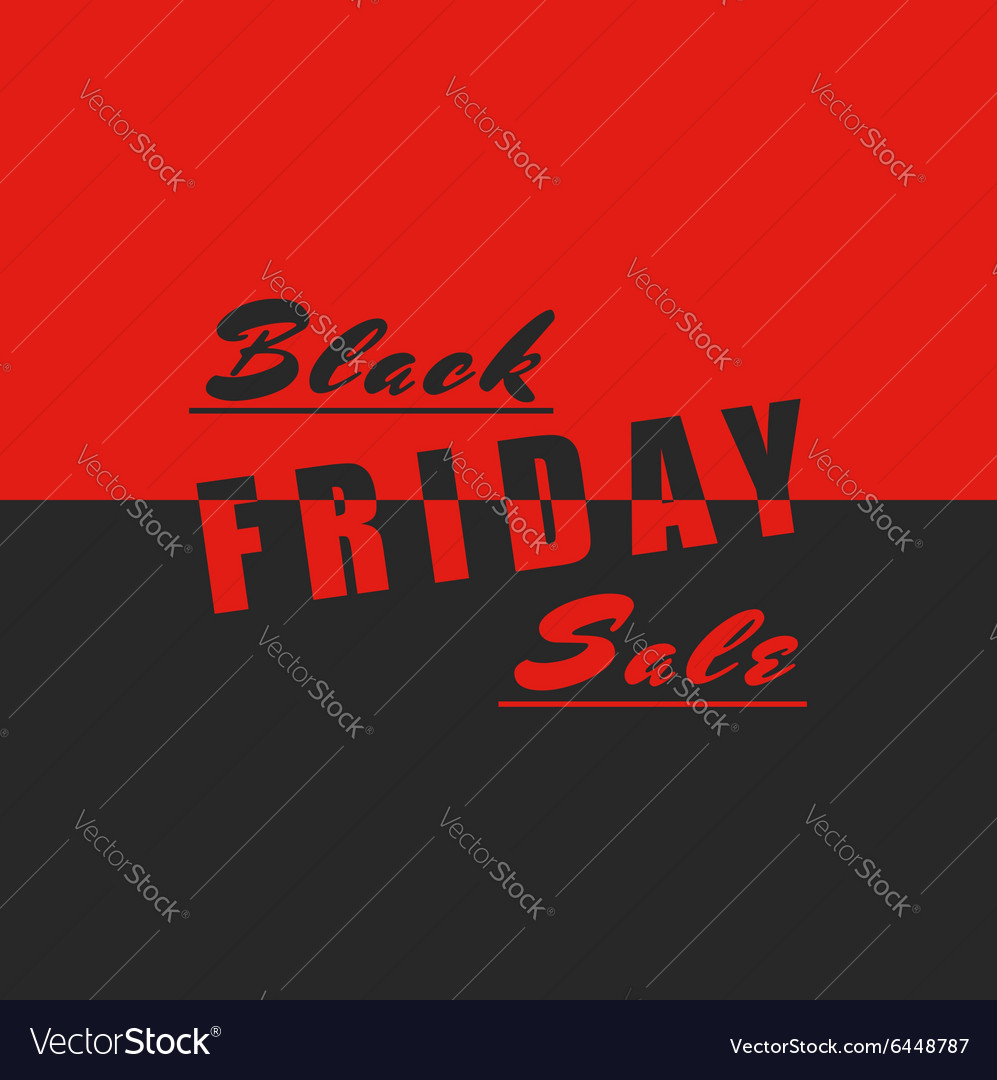 Black friday sale poster mockup design element
