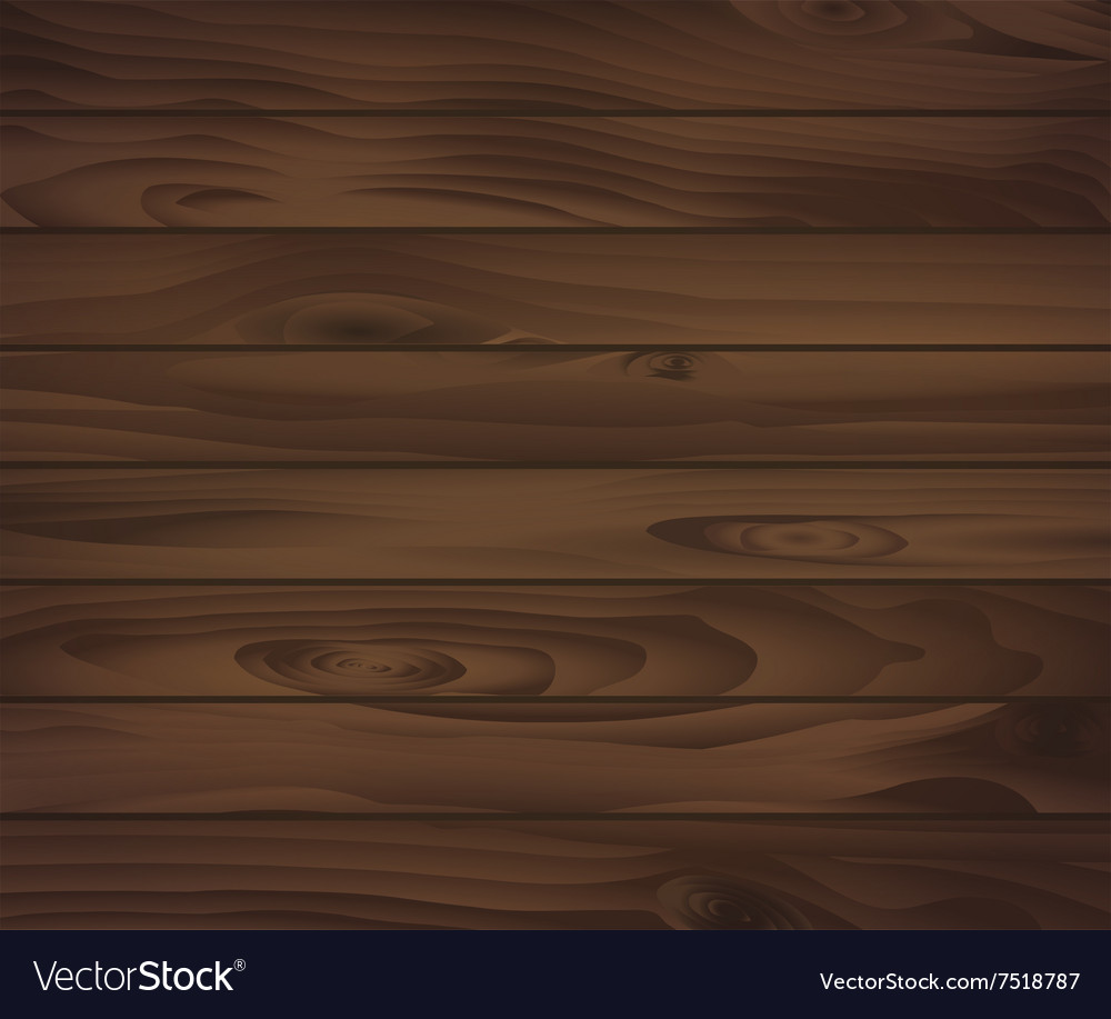 Wooden texture of dark brown boards For natural