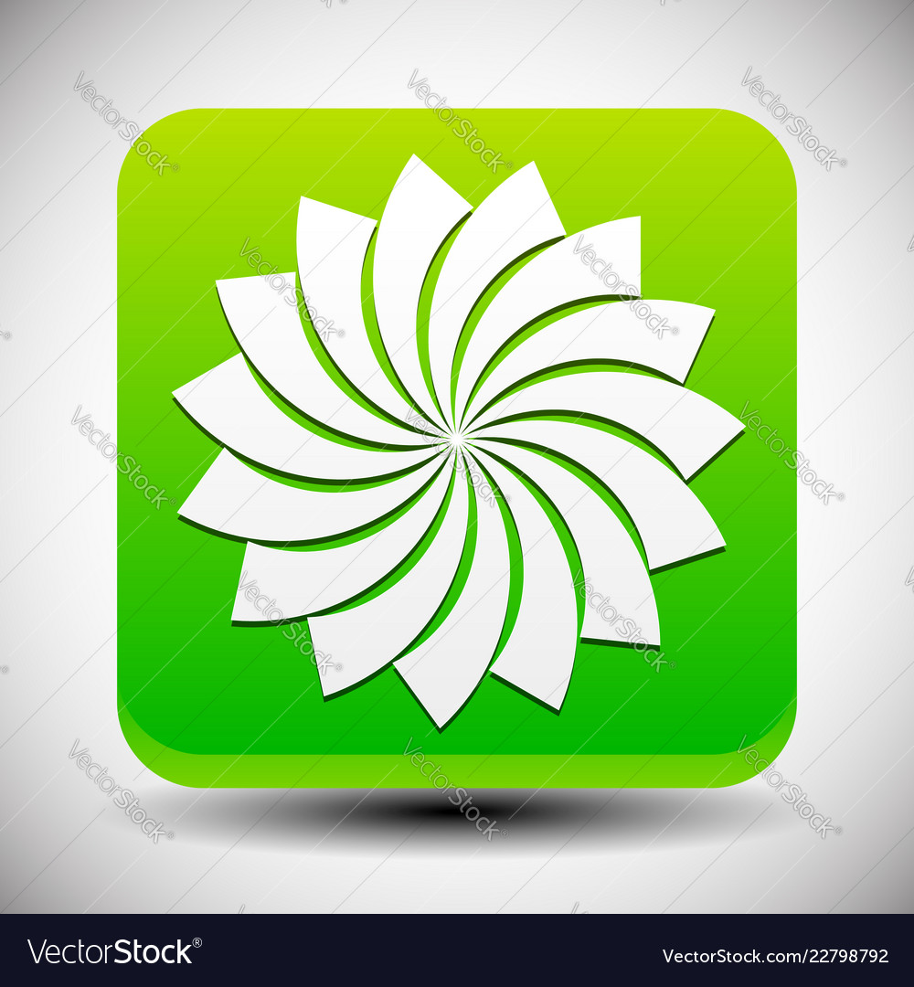 Icon With Lotus Flower Silhouette Simple Mandala Vector Image