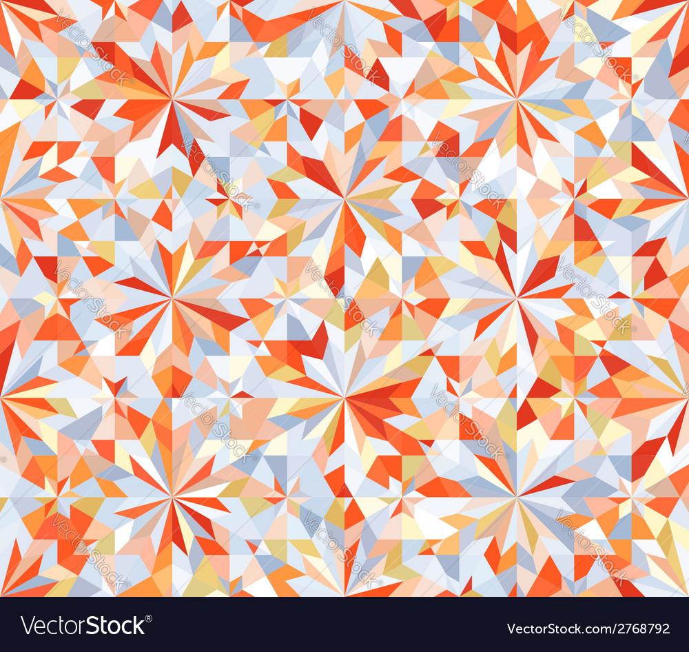 Mosaic Seamless Geometric Pattern
