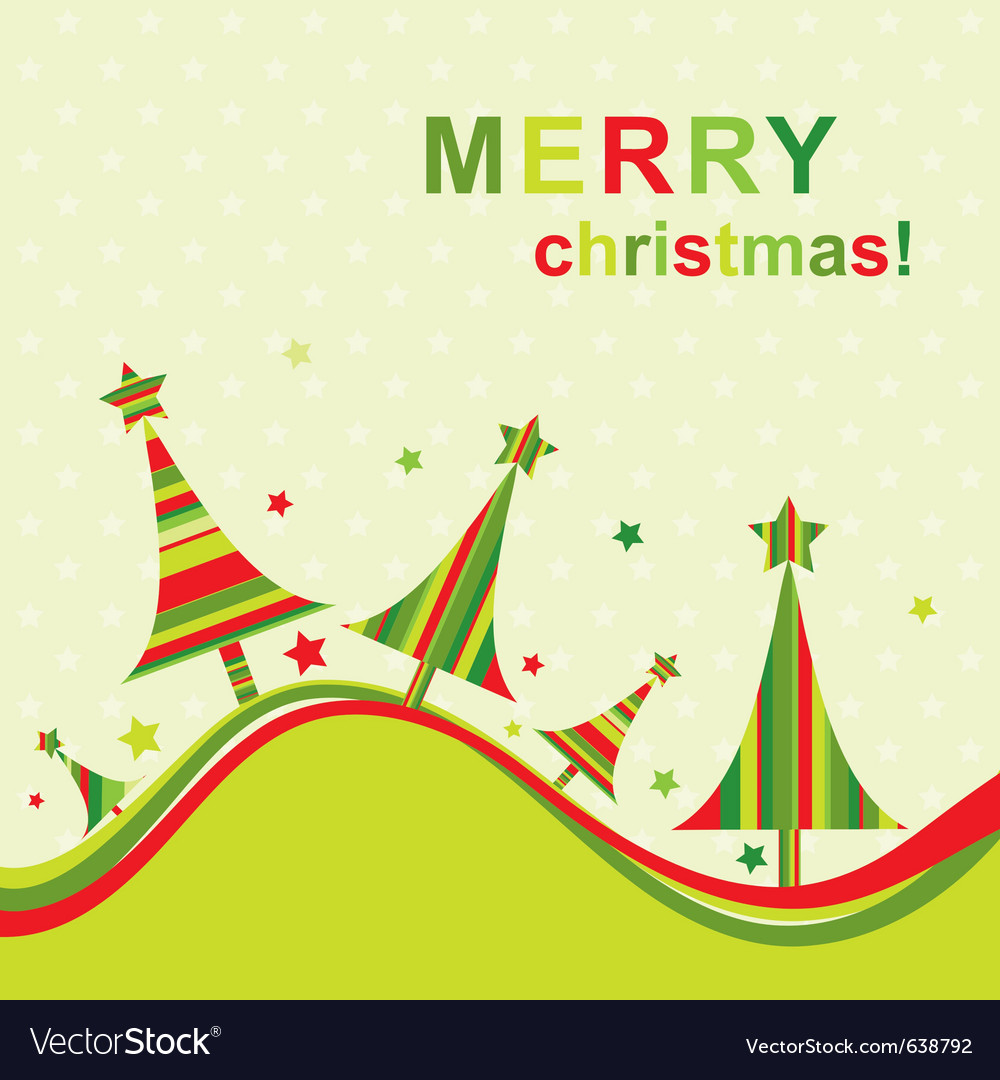 Template christmas greeting card royalty free vector image template christmas greeting card vector image m4hsunfo
