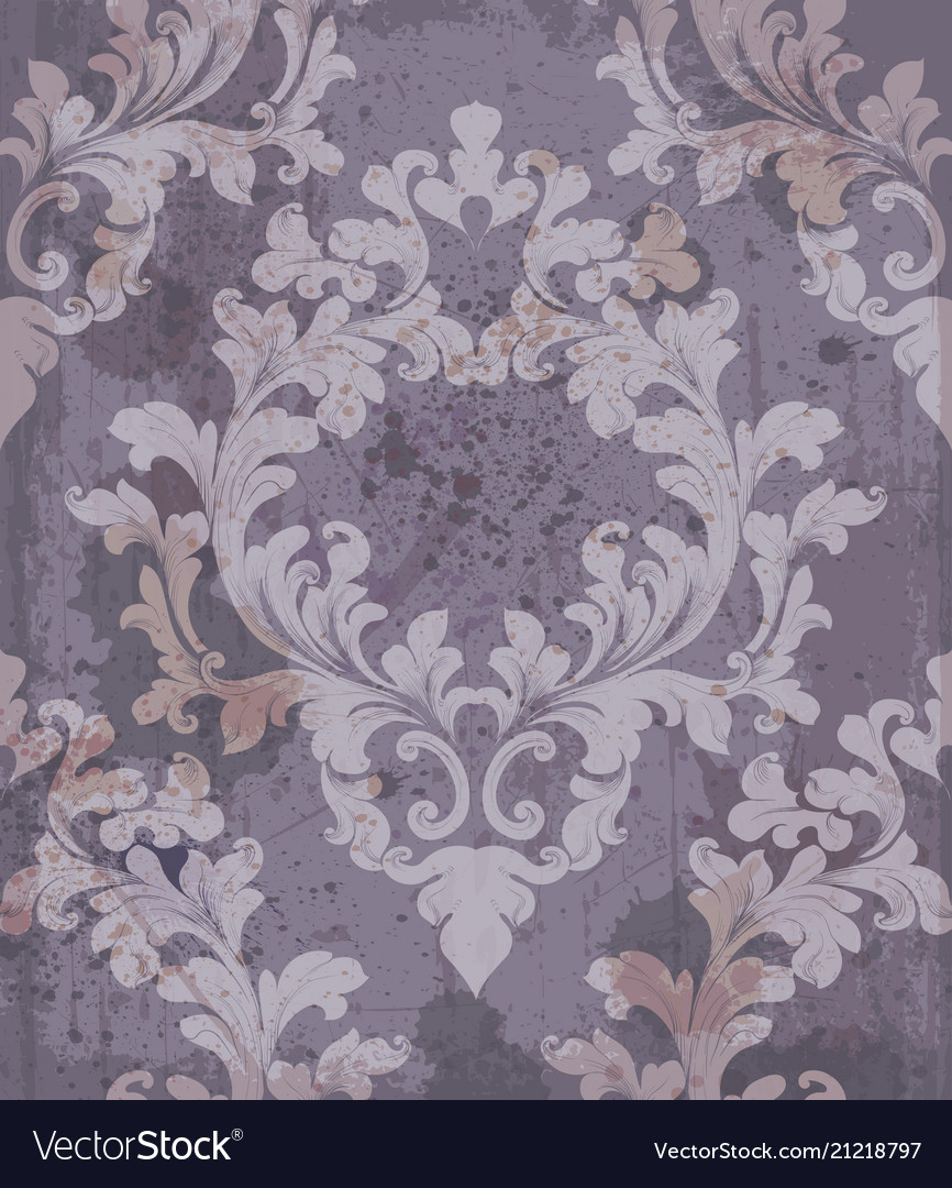 Baroque purple background
