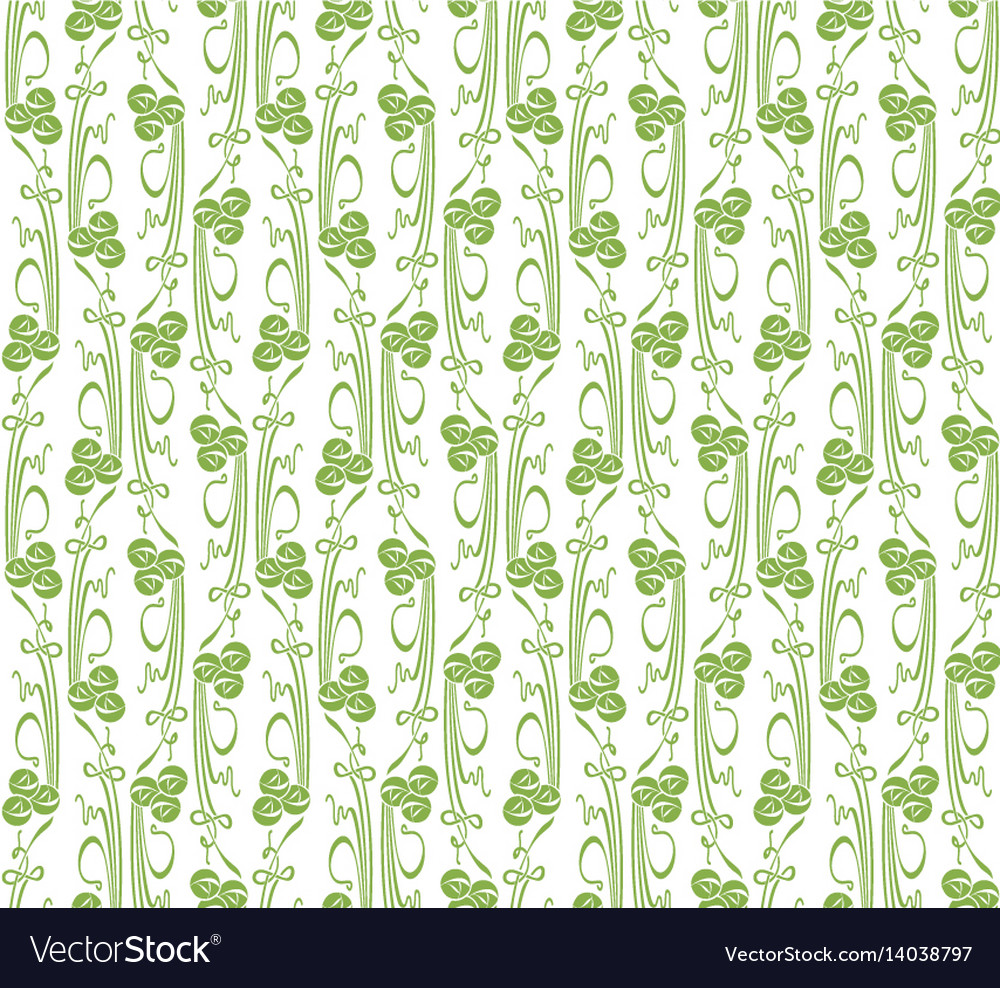 Doodles and dots seamless pattern background vector image