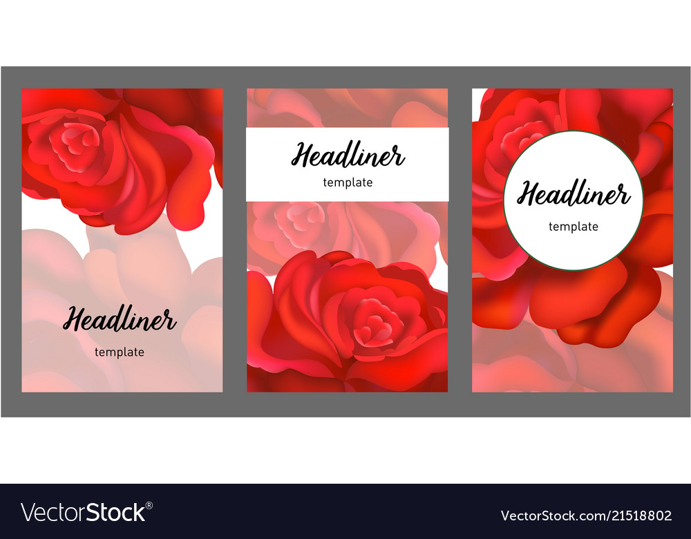 Background with classic english roses for