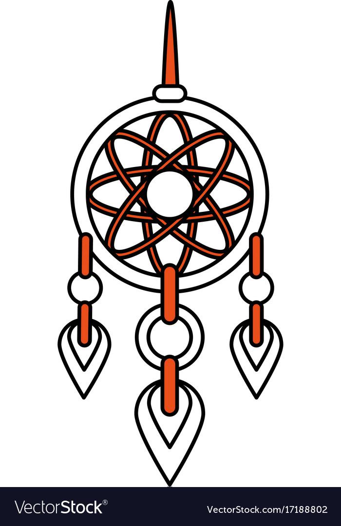 Dream Catcher Symbol Royalty Free Vector Image
