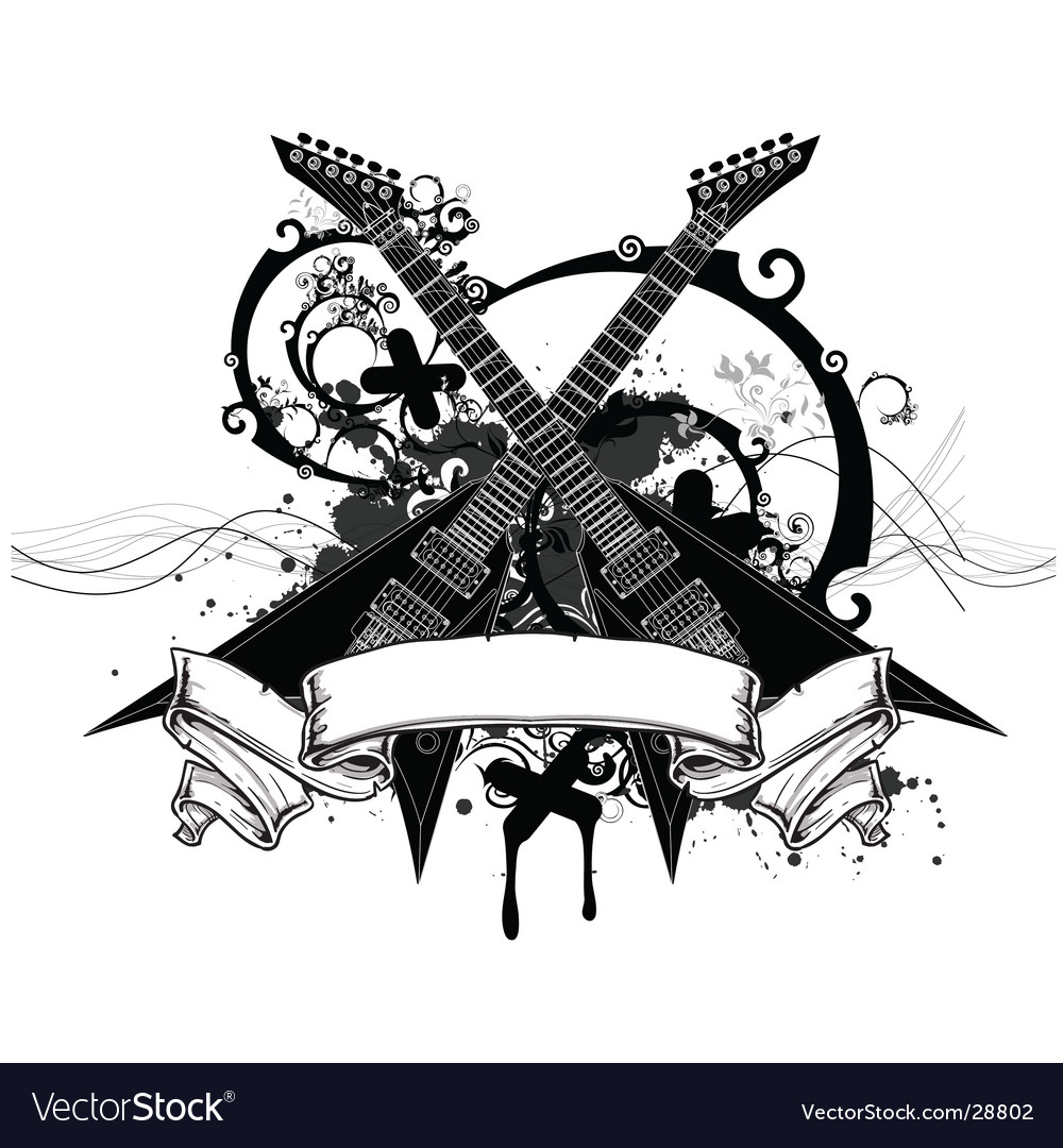 Rock music graphic