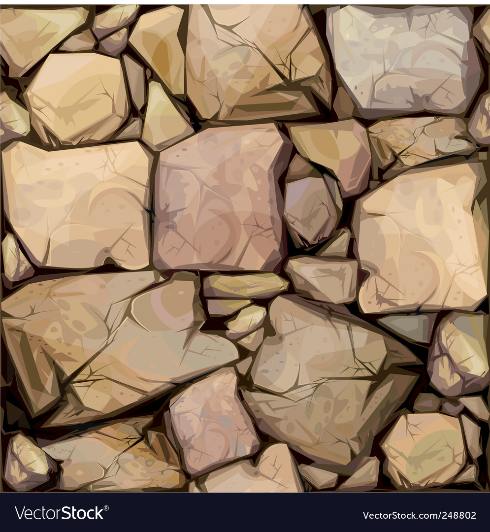 Seamless texture of sto vector image