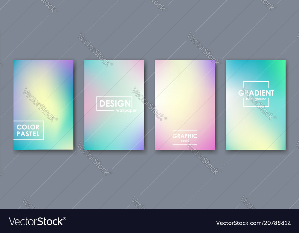 Abstract pastel color template for presentation