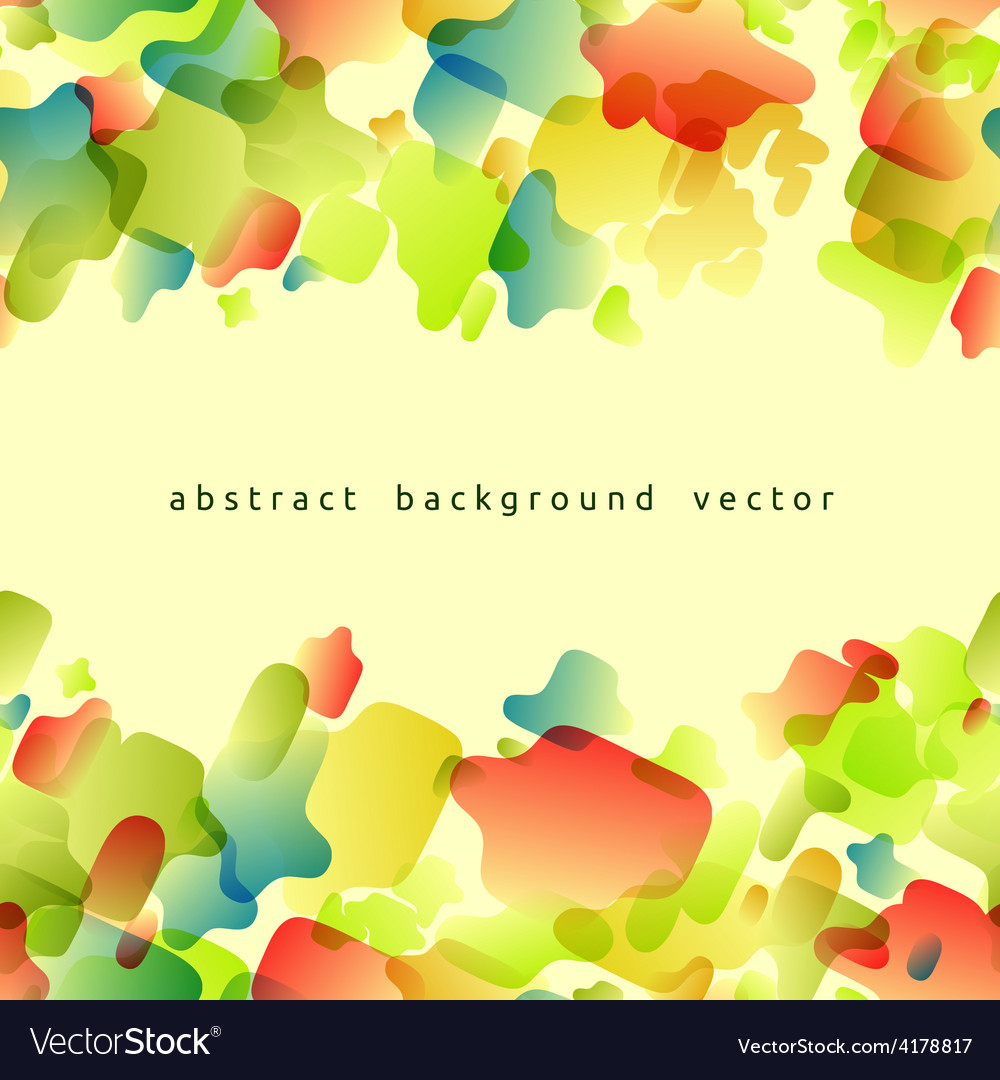Abstract background of colored spots