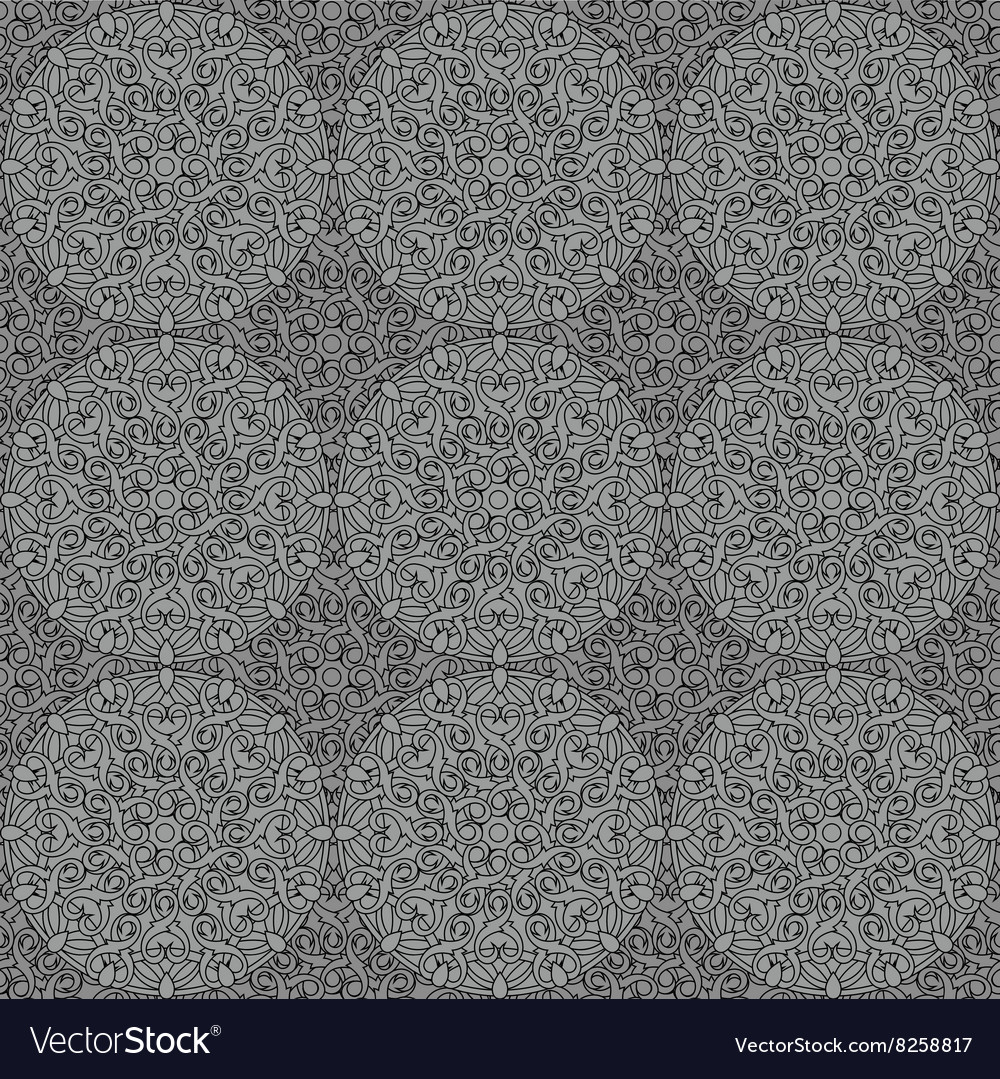 Seamless background with a circular pattern