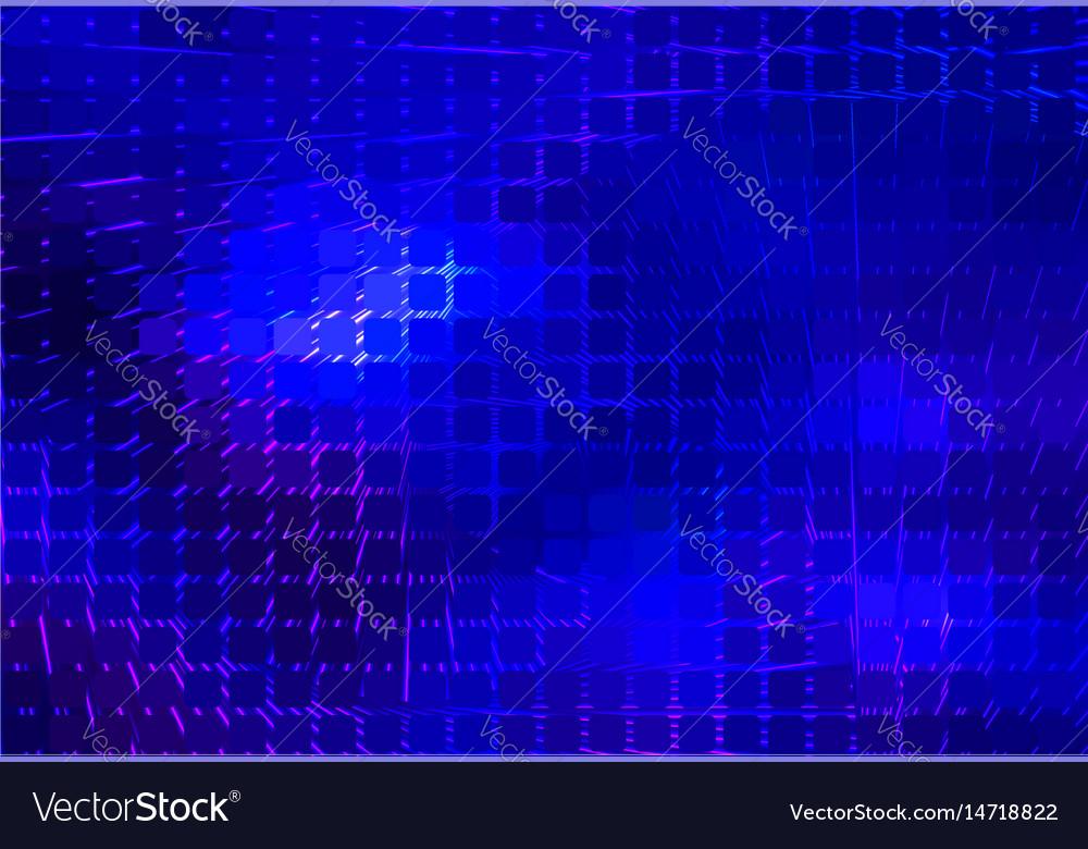 Dark blue spiral rounded mosaic background
