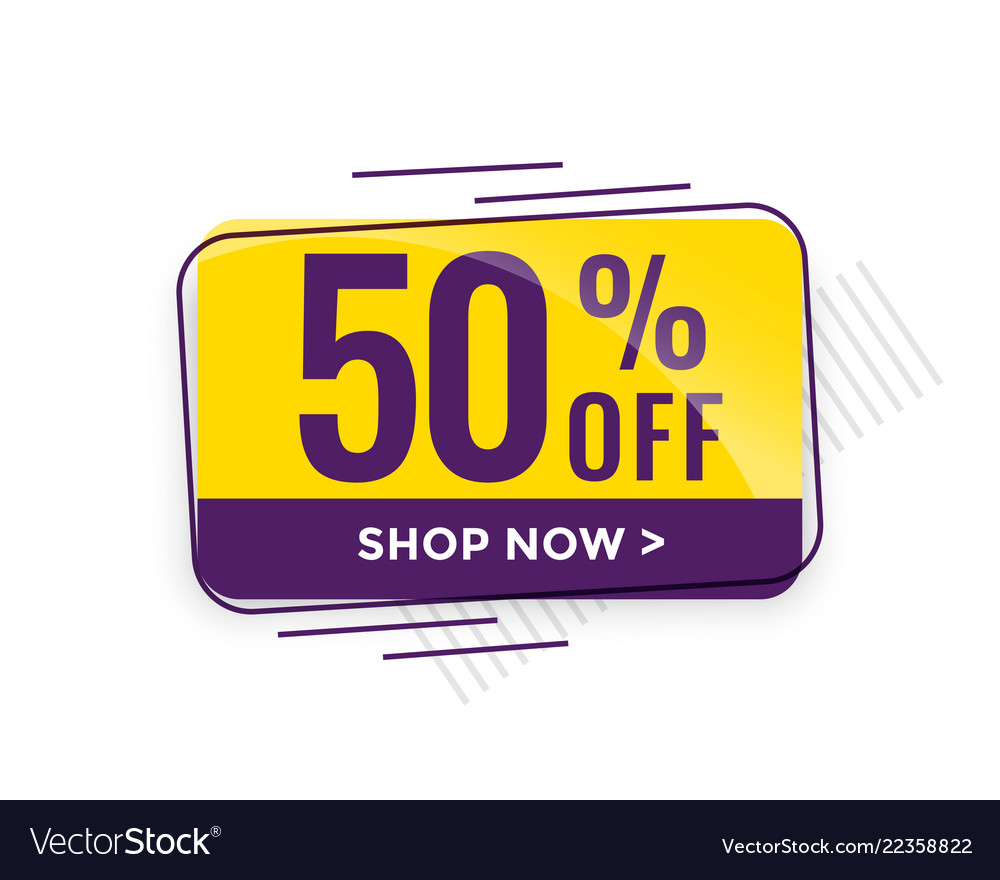 Discount sale and price tag design
