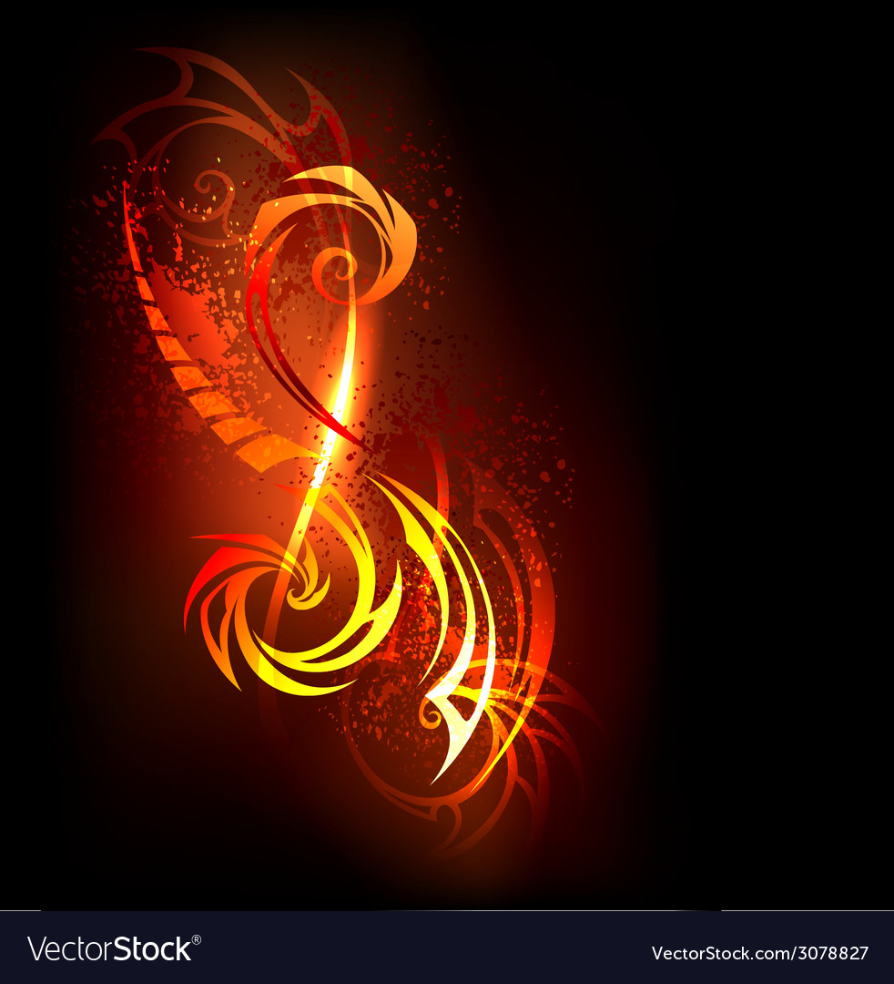 Abstract Pattern of Fire