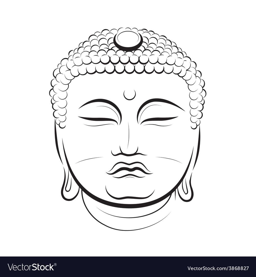 Drawing Buddha Head