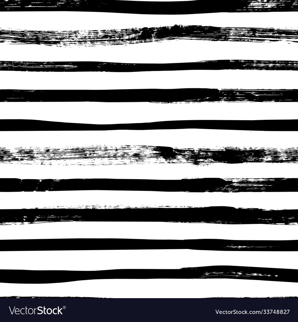 Grunge lines seamless pattern