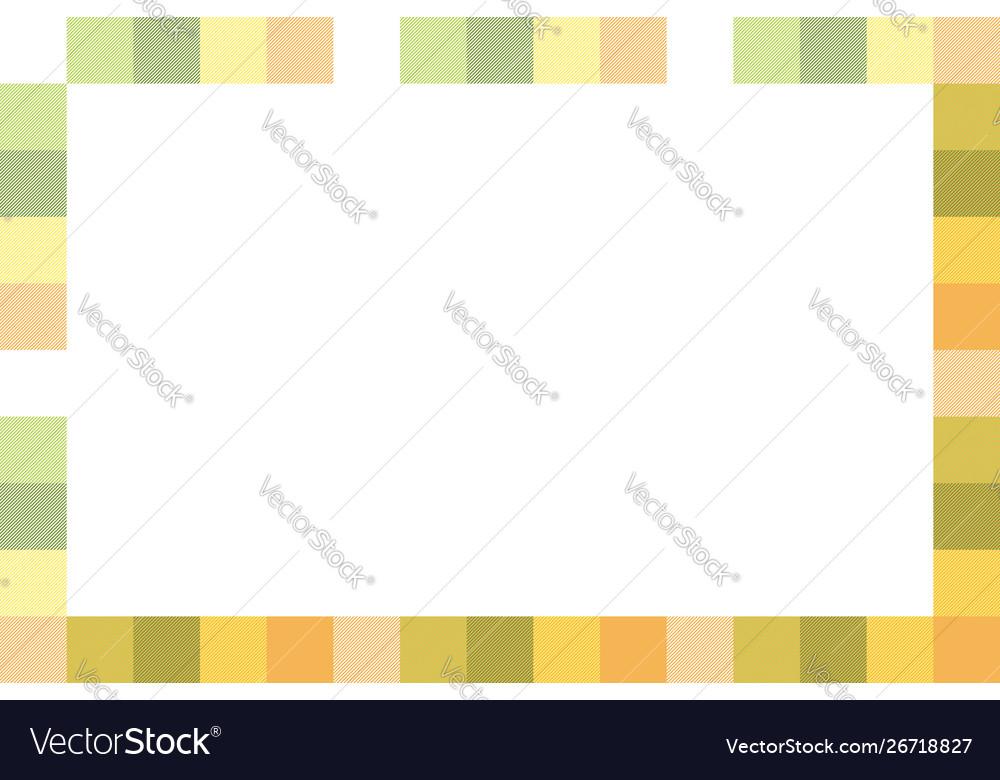 Rectangle frame vintage pattern design template