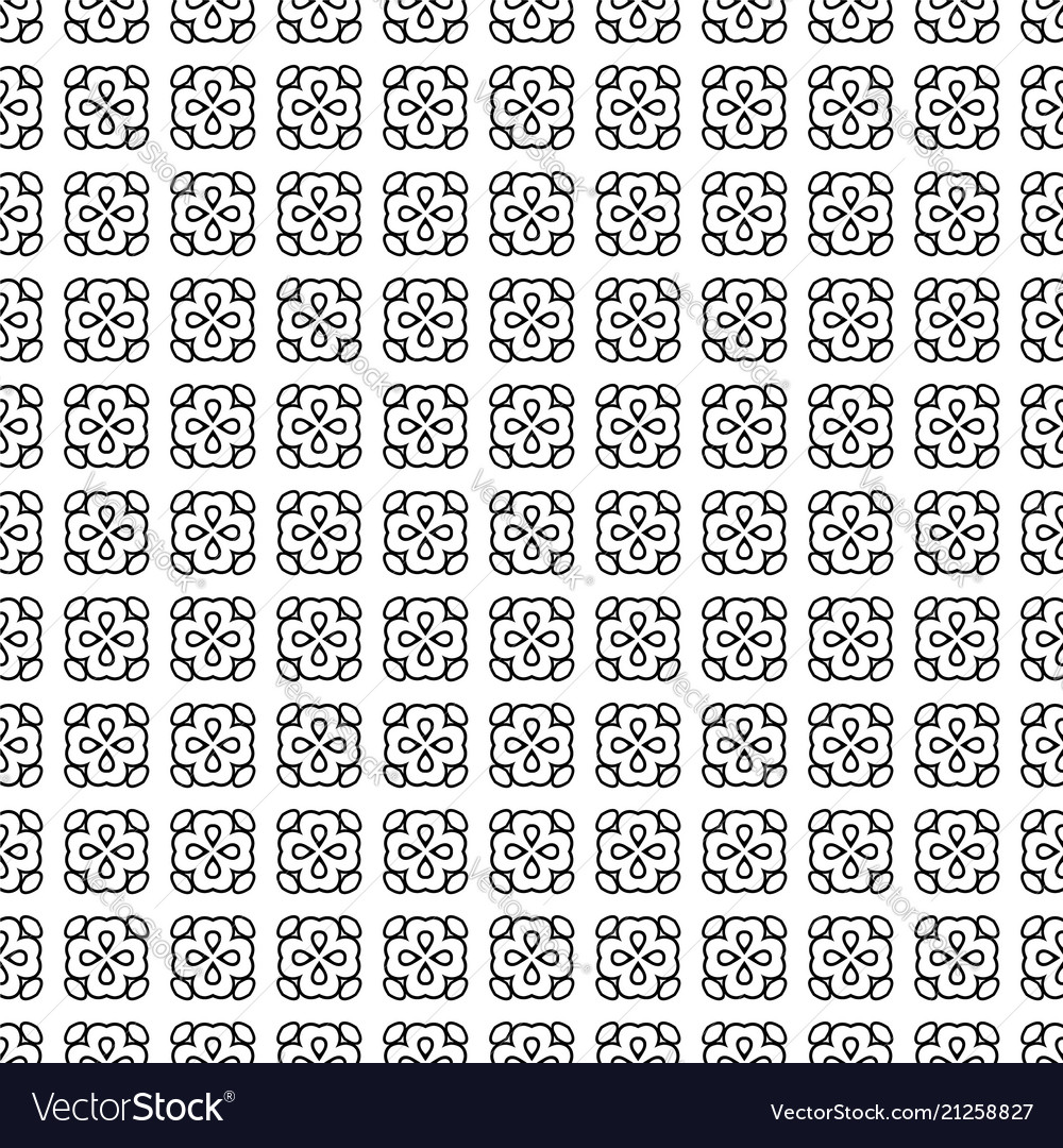 Seamless pattern line decoration abstract