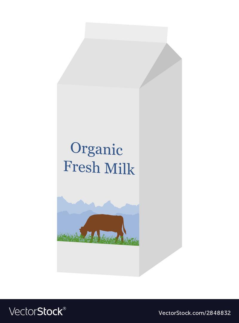 Bio milk carton