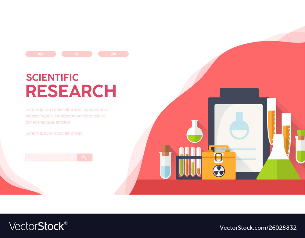 Science laboratory equipment medical researches