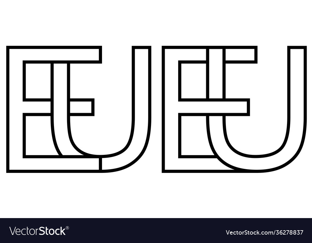 Logo european union eu capital