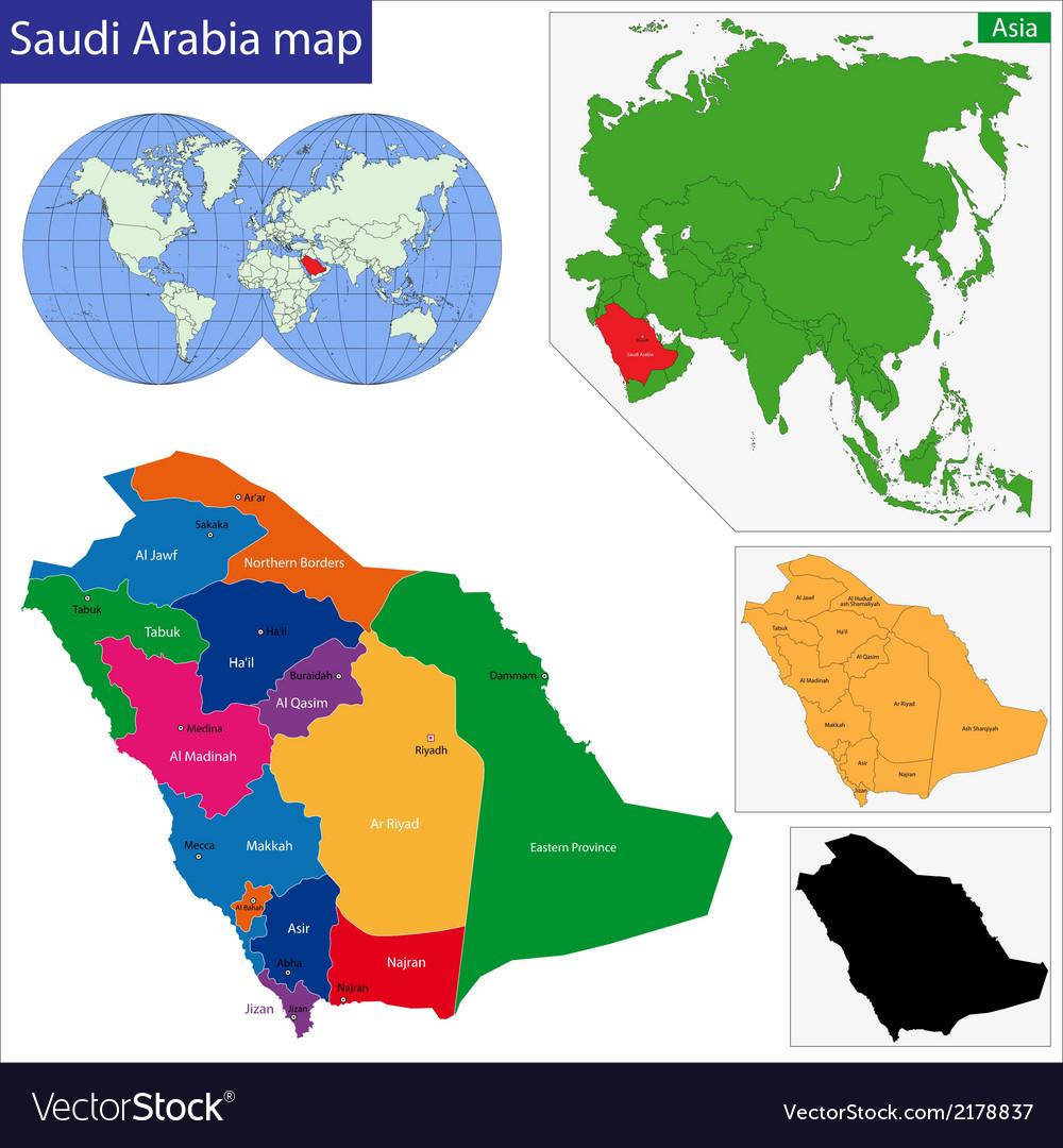 Saudi Arabia map on united arab emirates map, afghanistan map, algeria map, bahrain map, brazil map, kuwait map, iran map, oman map, russia map, india map, malaysia map, libya map, morocco map, great britain map, tanzania map, lebanon map, japan map, sudan map, jordan map, dubai map,