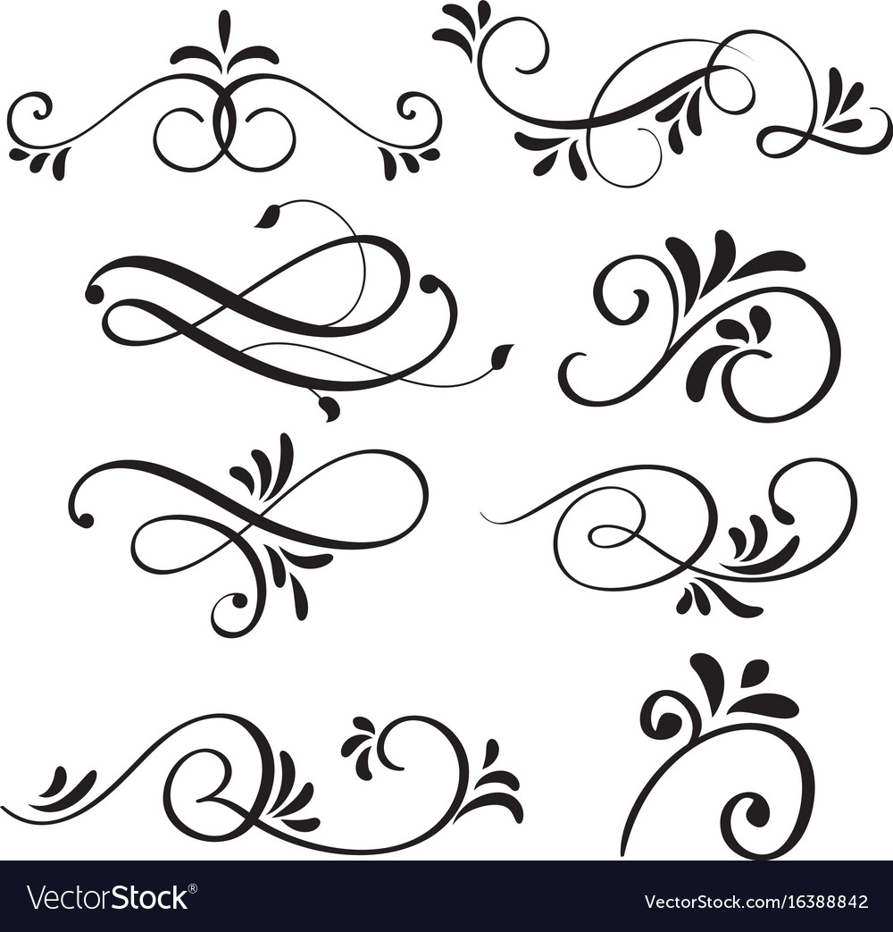 Floral Calligraphy Art Designs
