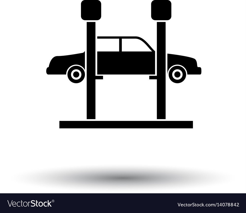 Car lift icon