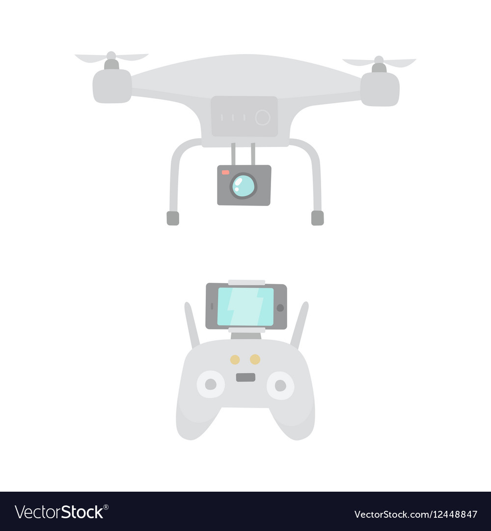 Aerial drone and drones controller