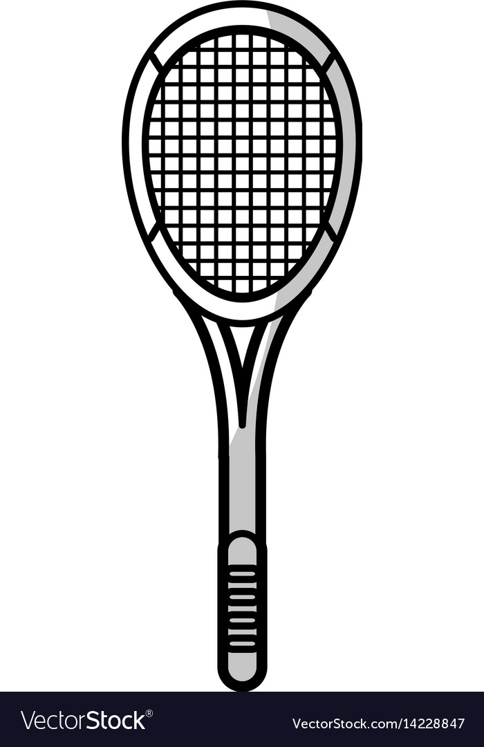 Racket tennis equipment - shadow