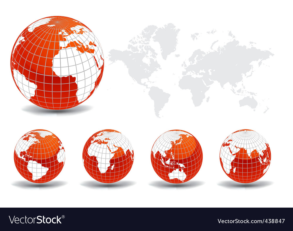 world map vector graphic. Glossy World Map Vector