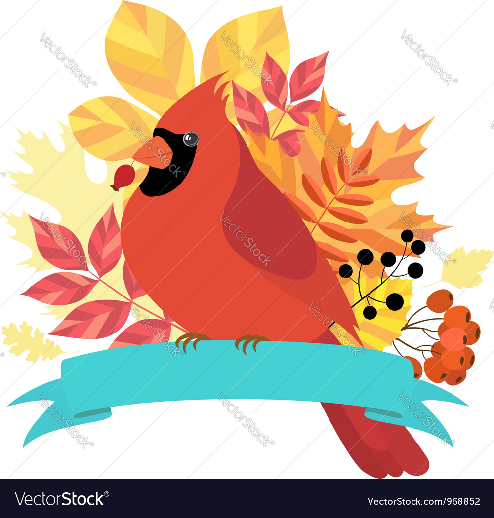 Autumn time vector image
