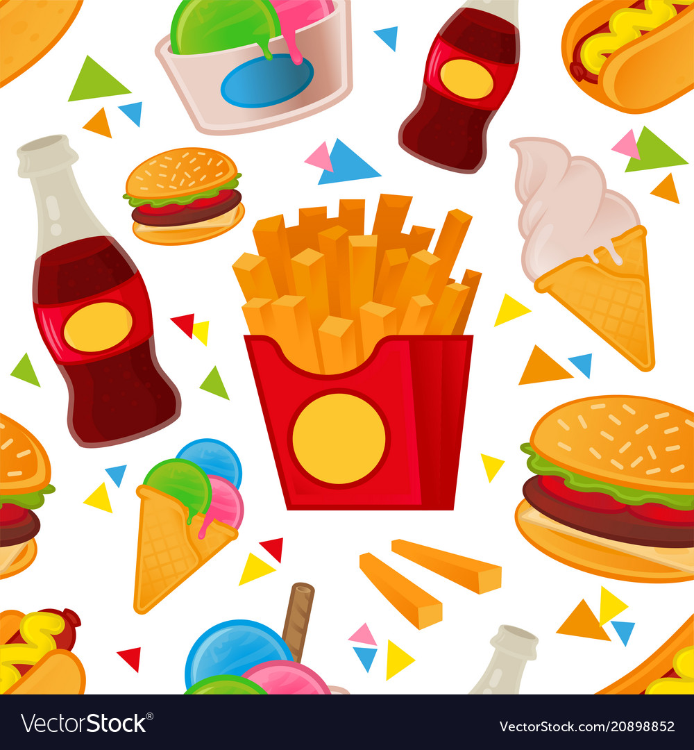 Fast food pattern set