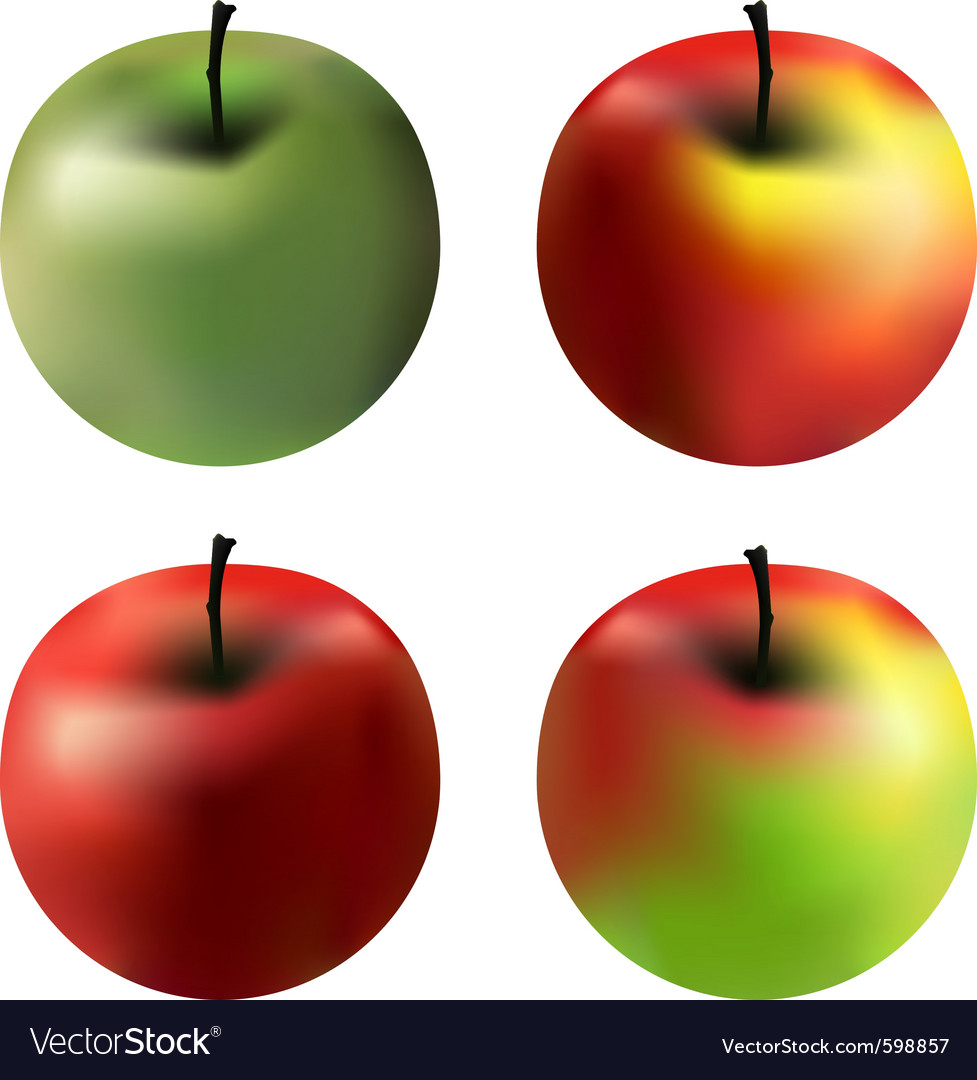 Gradient apples