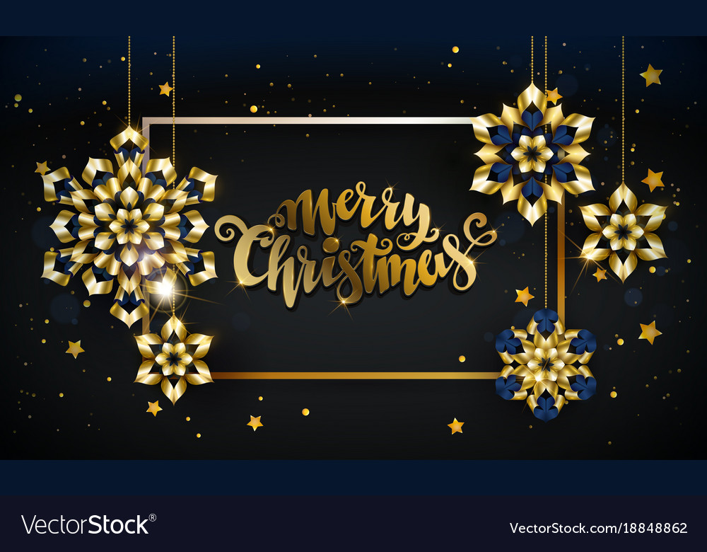 merry christmas gold vector free merry christmas gold royalty free vector image