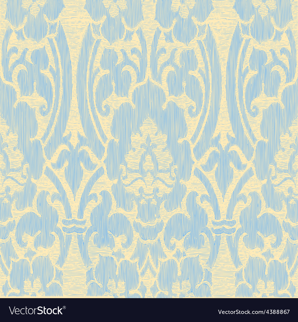 Light abstract striped floral pattern vintage