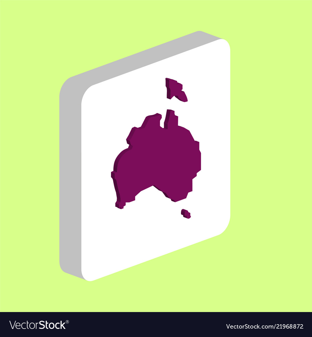 Australia computer symbol