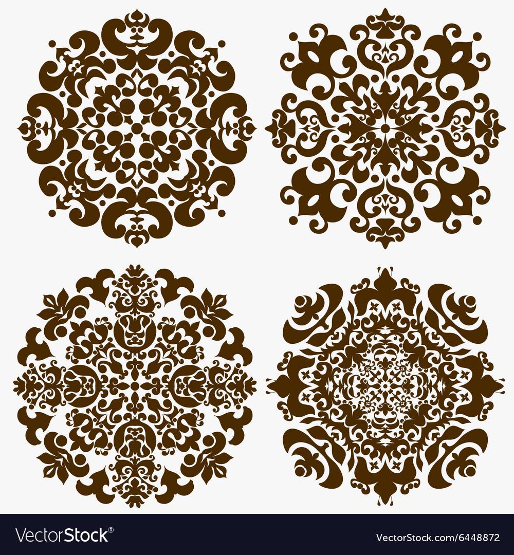 Mandala Ornamental pattern vector image