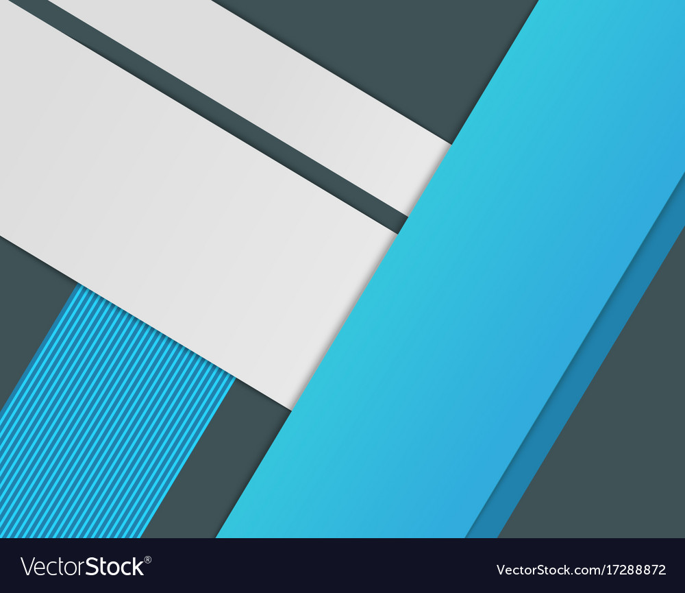 Modern abstract material design background paper Vector Image
