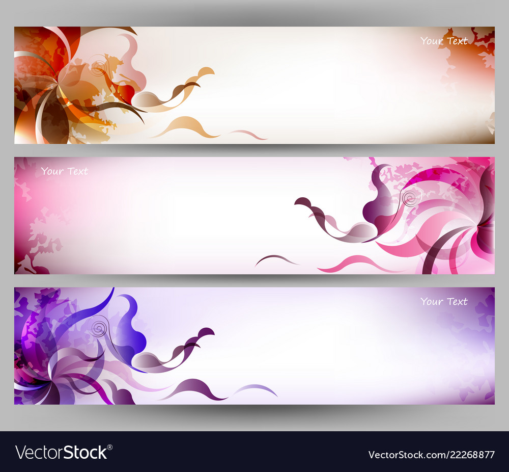 Abstract Colorful Butterfly And Flower Background