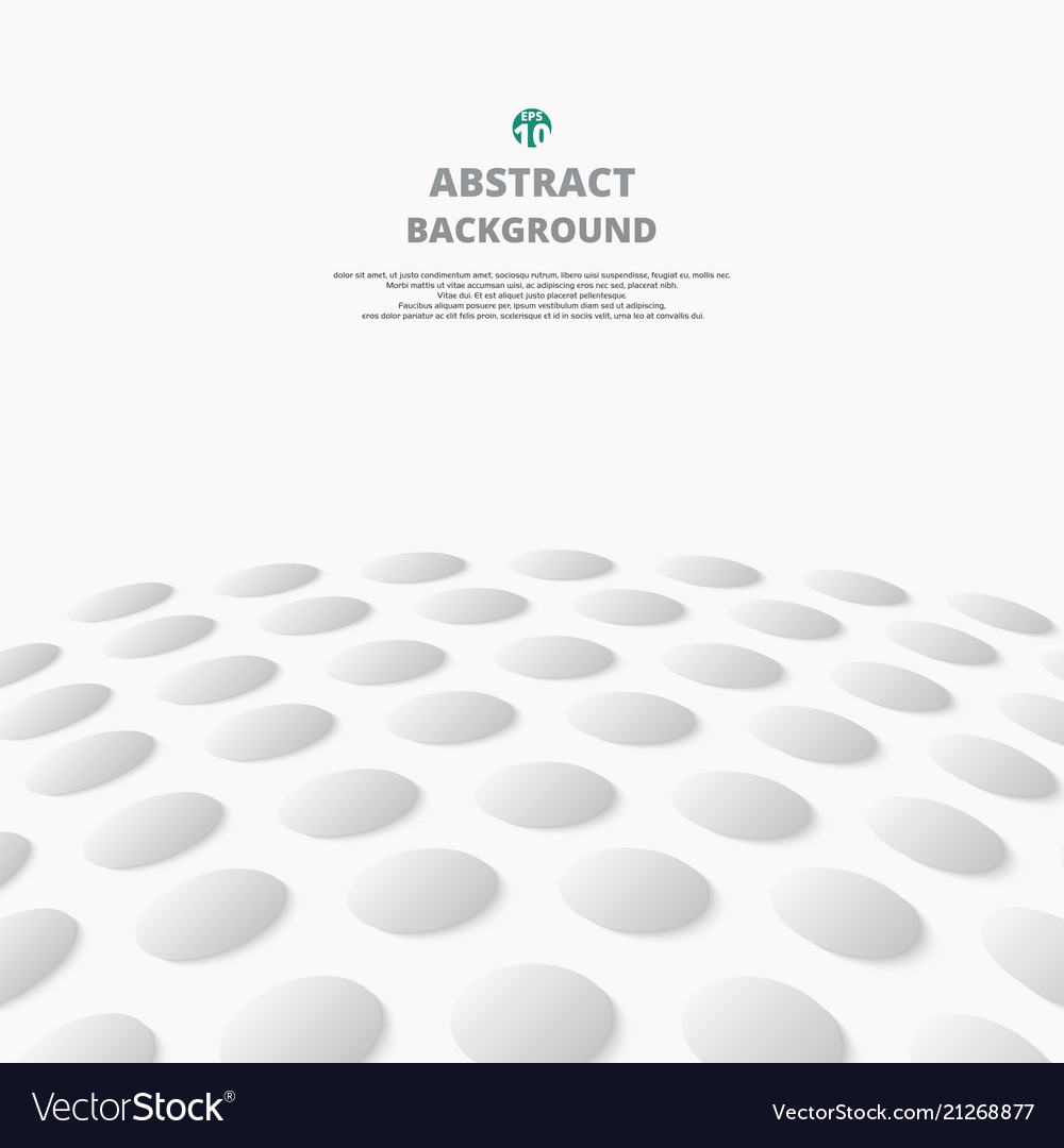 Abstract of gray gradient circle pattern distort