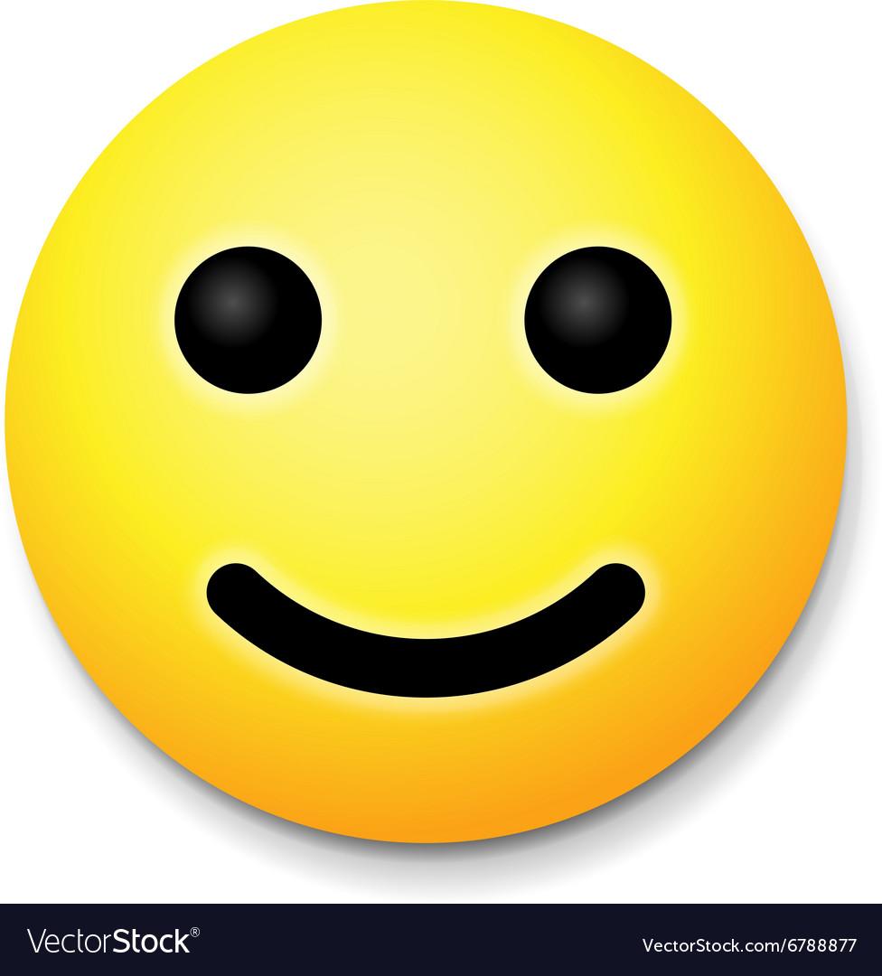 Yellow laughing happy smile emoji smile symbol