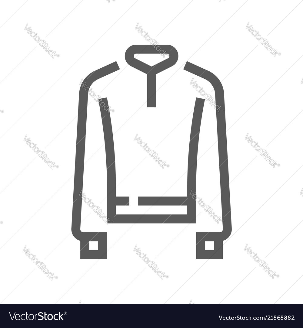 Fashion and clothes line icon