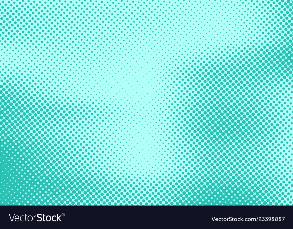 Abstract dots stripe halftone effect on green