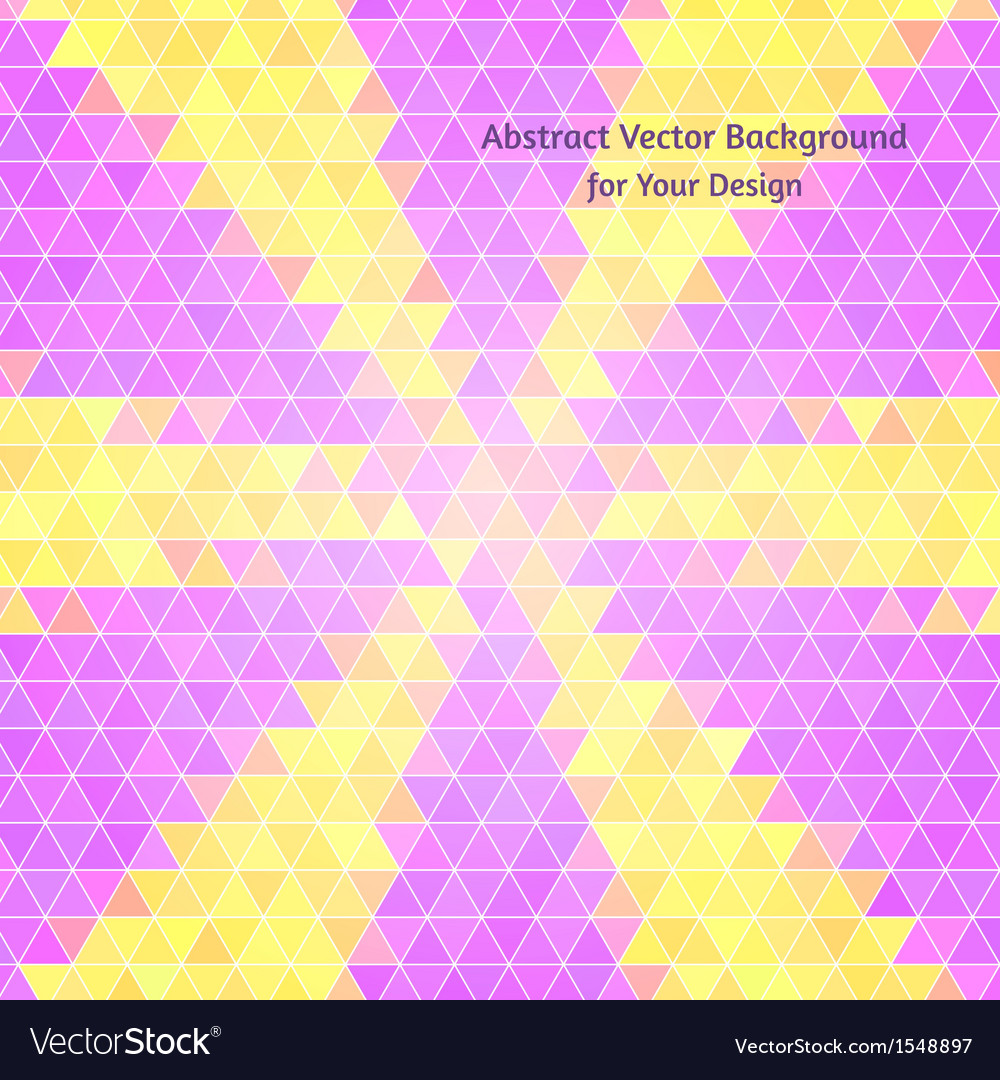 Abstract background Polygon style Varied colors