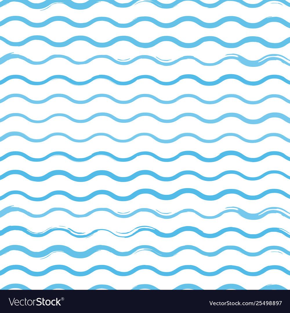 Waves brush pattern background