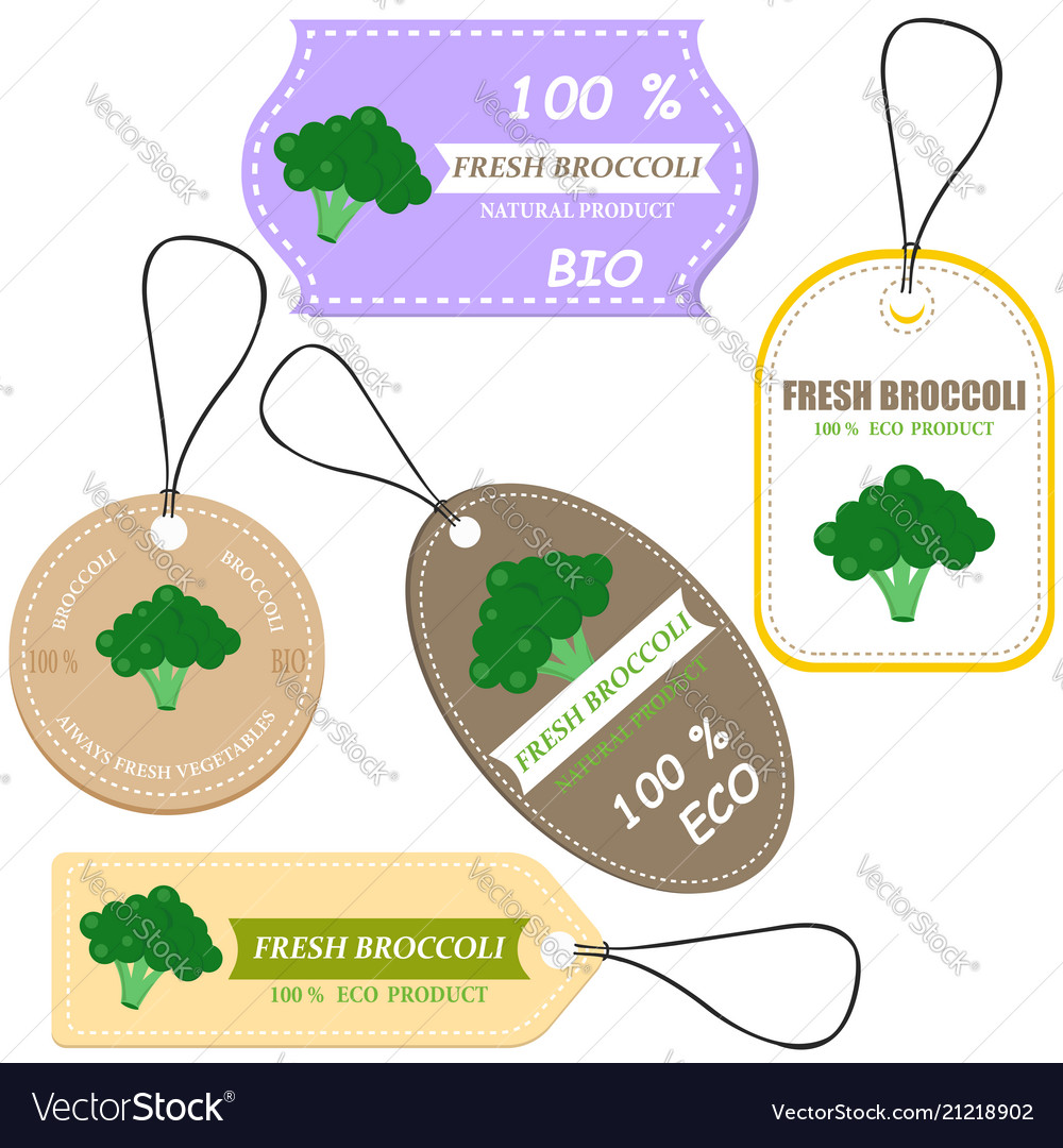 Vegetable tag and farm market